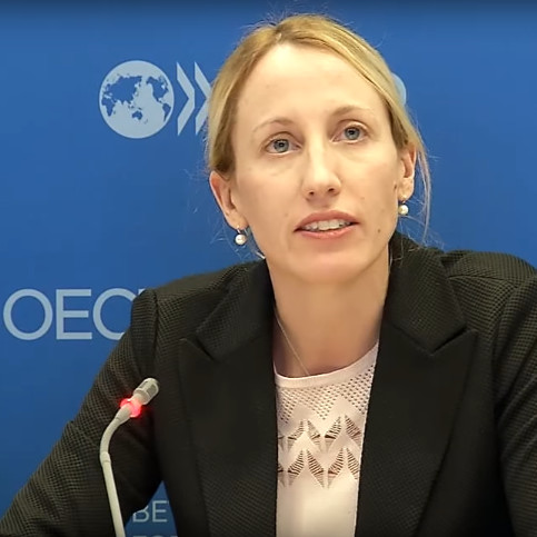 Caroline Malcolm, Head Blockchain Policy Centre OECD