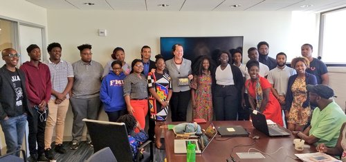 Summer 2018 Cohort with our partners DC Youth Corps and the DC Office of Employment Services.