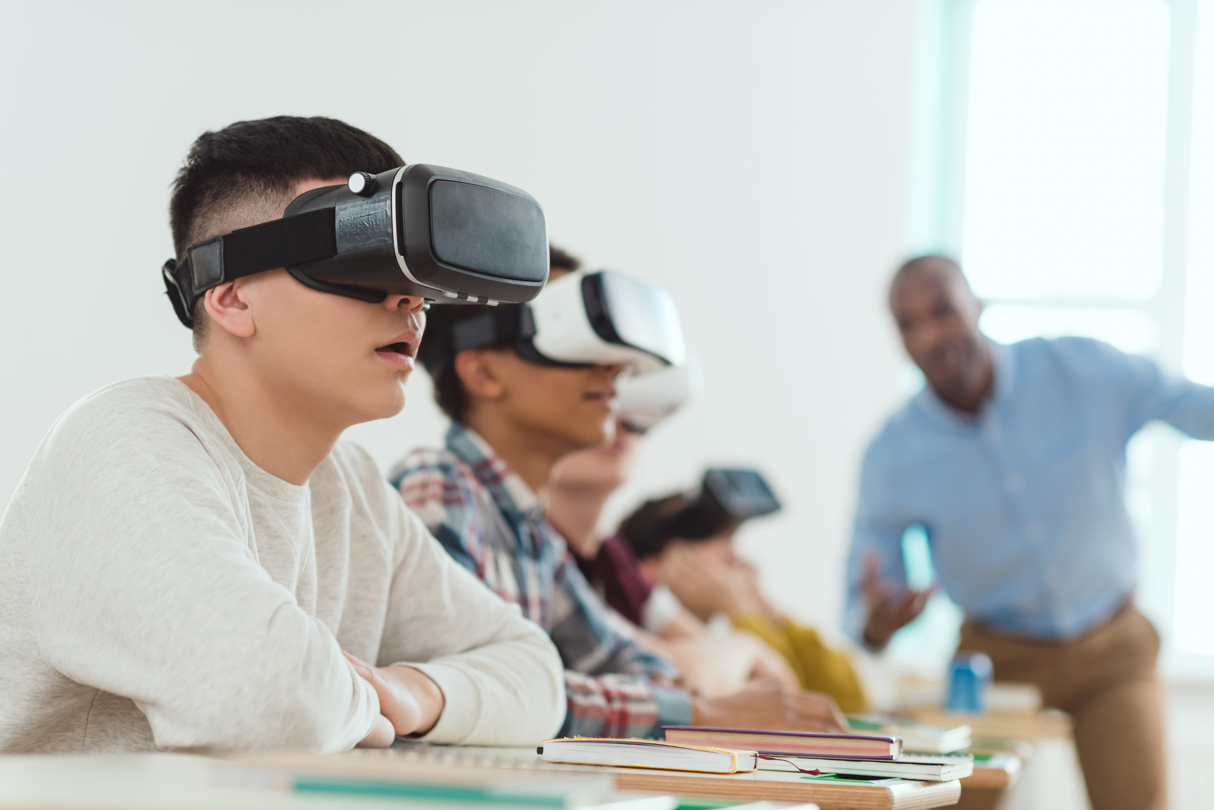 VIRTUAL REALITY CODING 101-104 - High school students are offered a direct path to official Unity Programming Certification with our Virtual Reality Coding courses.