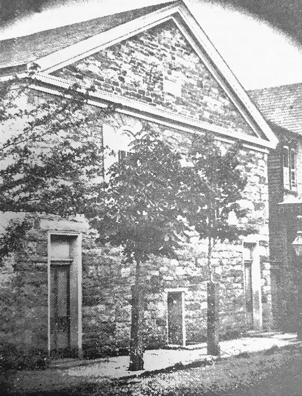 Original Stone Church Building, built in 1843
