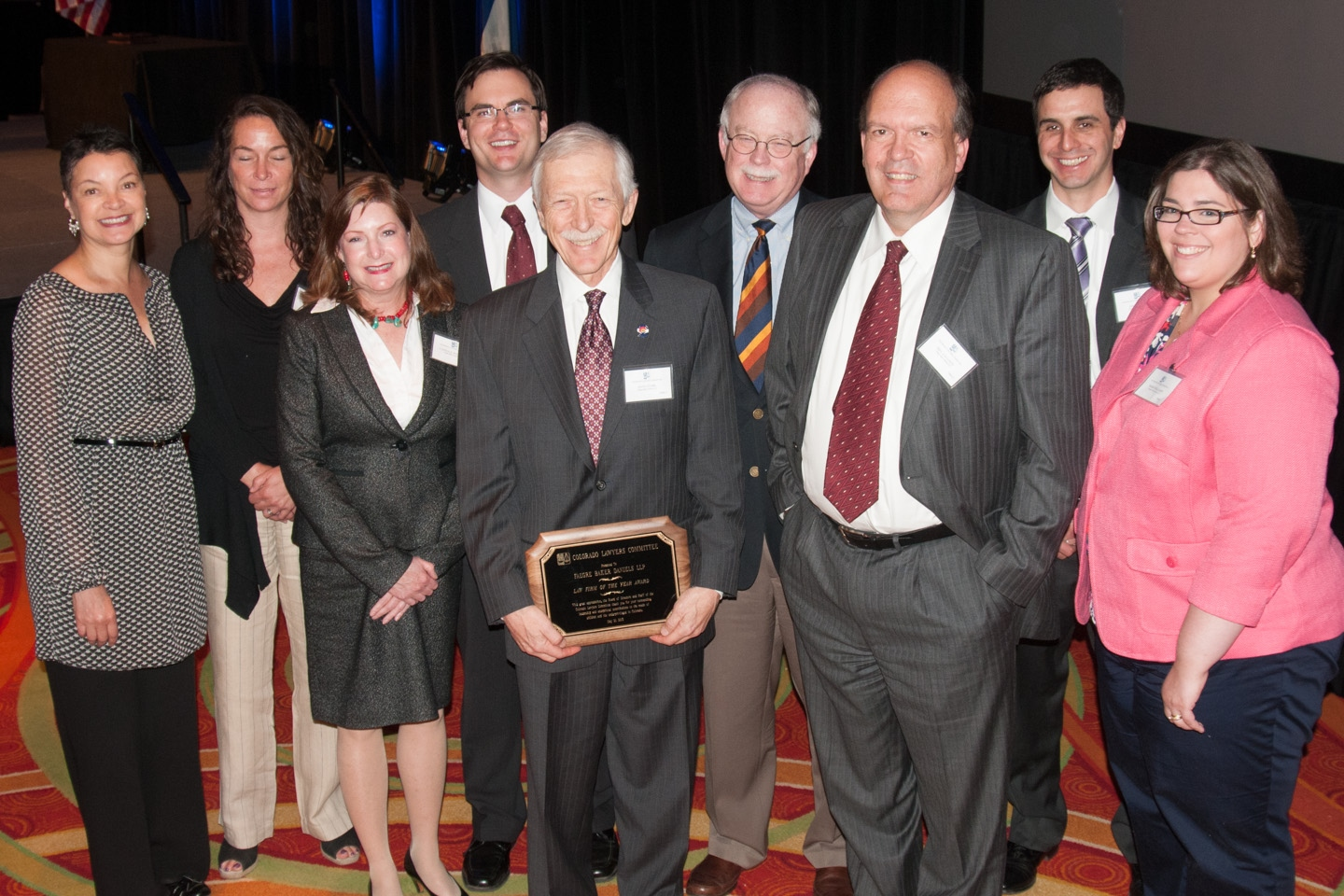 H63A Law Firm of the Year Award Recipient, Faegre Baker Daniels LLP (Photo courtesy of Hartmannphoto, LLC).jpg