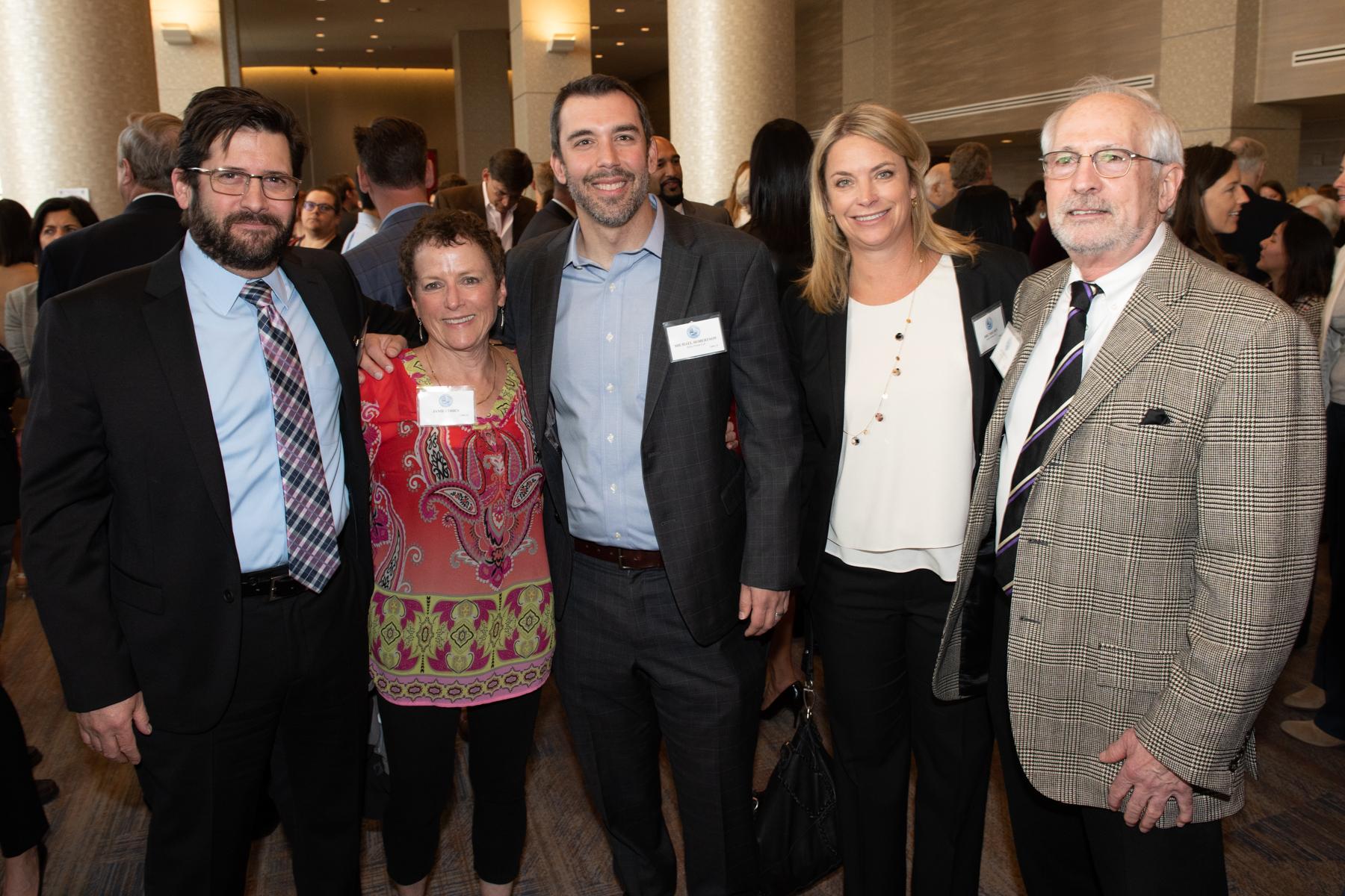 _DSC7189 Mike Rollin, Janie Cohen, Michael Robertson, Dru Nielsen & Jack Hanley (courtesy of Hartmannphoto).jpg