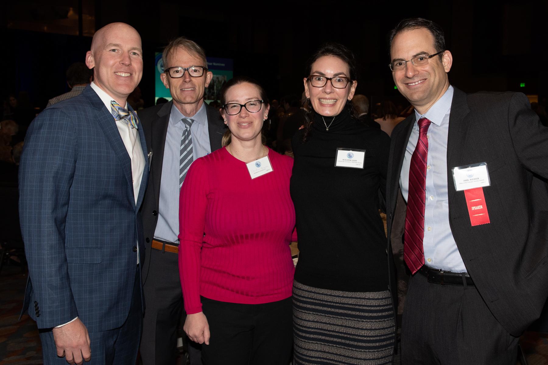 _DSC7217 John McHugh, Robert Dodd, Christine Hernandez, Suzanne Leff & Phil Weiser (courtesy of Hartmannphoto).jpg
