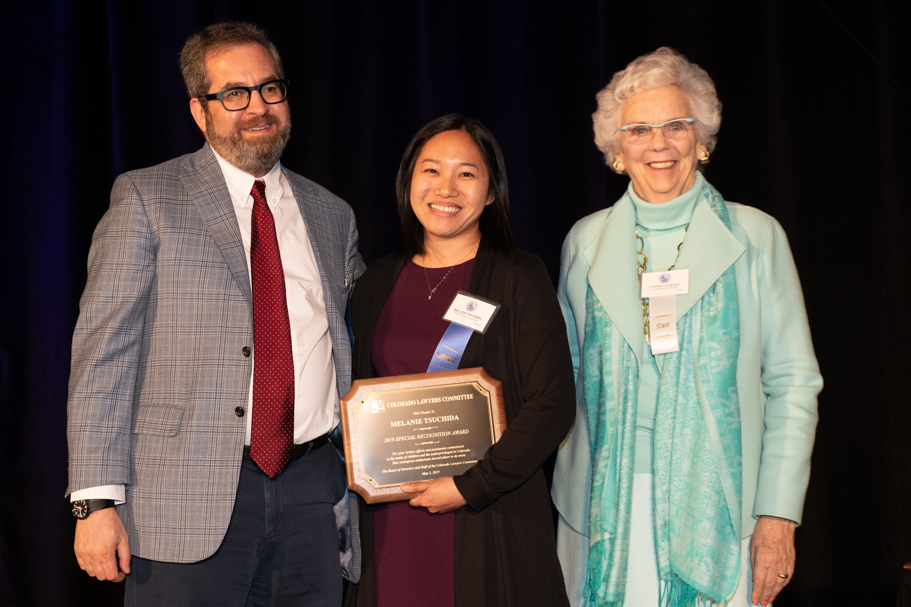 _DSC7433 Peter Schwartz, Melanie Tsuchida & Connie Talmage (courtesy of Hartmannphoto).jpg