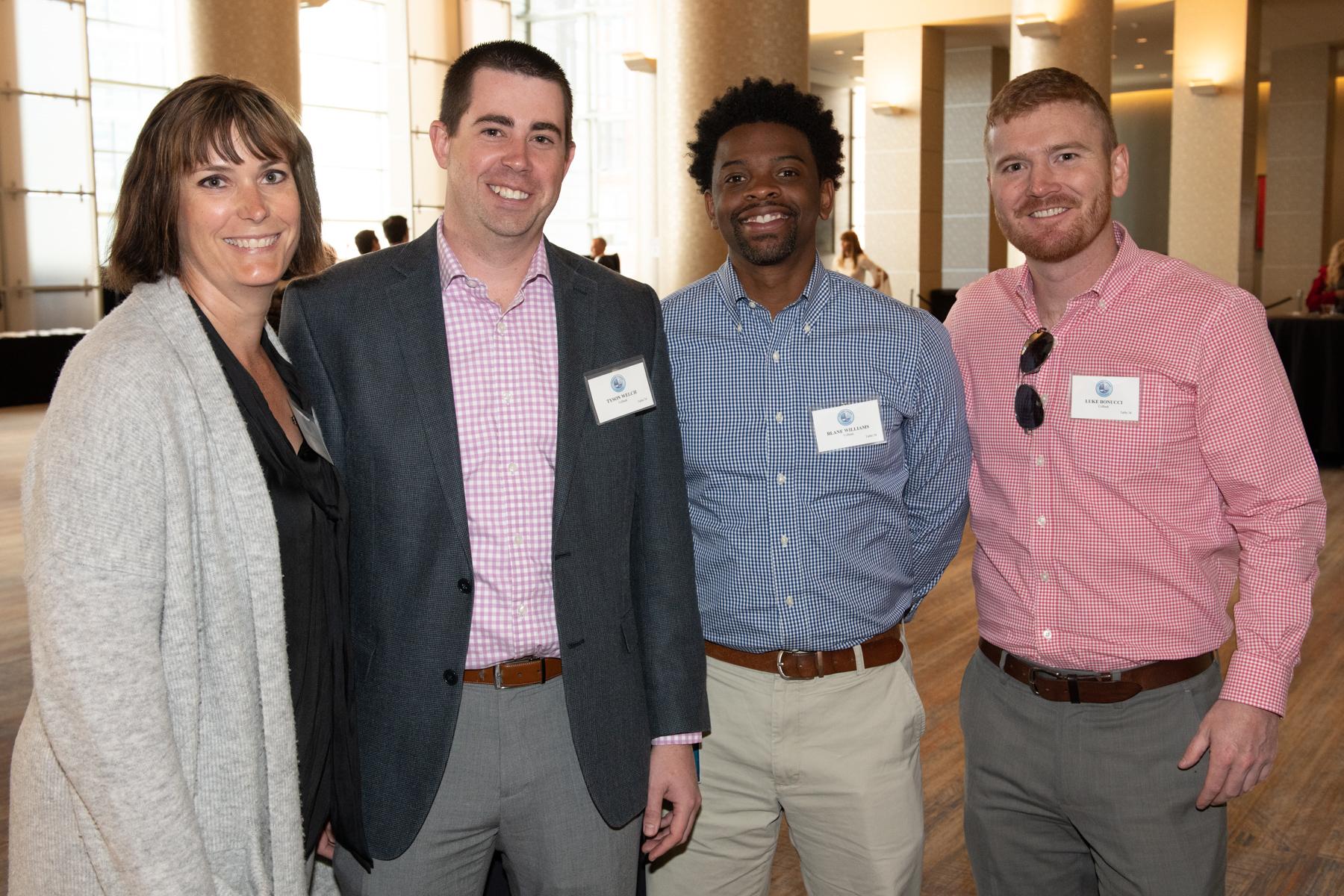 _DSC7149 Ellen Wingenter, Tyson Welch, Blane Williams & Luke Bonucci (courtesy of Hartmannphoto).jpg