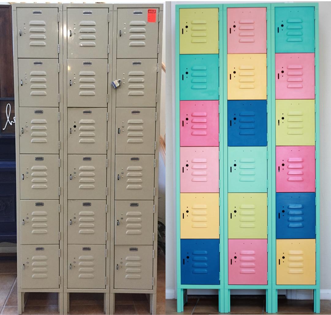Painted Metal Lockers