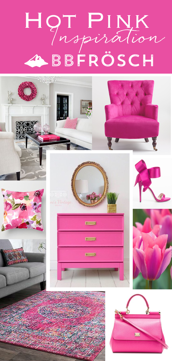 pink chalk paint | hot pink chalk paint | diy chalk paint | furniture redo | pink color inspiration | do it yourself furniture makeover | fuchsia | fuchsia furniture | how to pick the perfect color | girls bedroom | chalk painted furniture