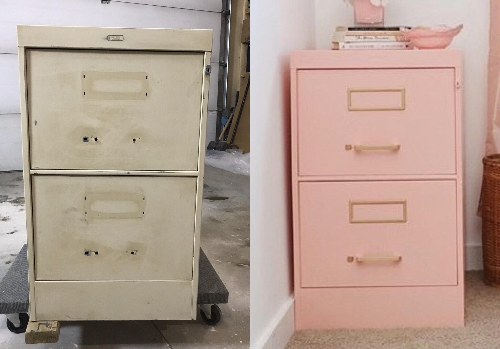 Pink Filing Cabinet #3