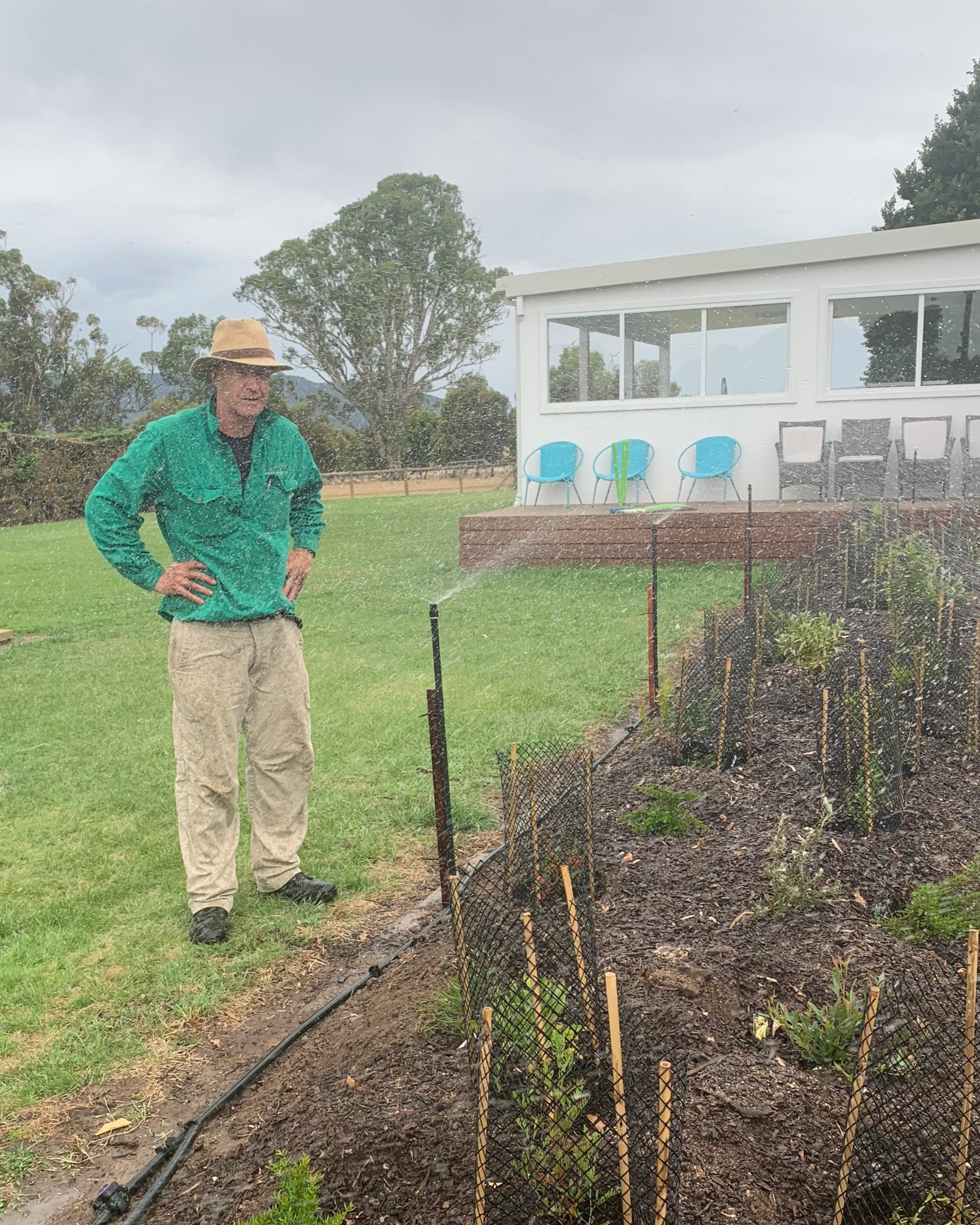 Rob Glazebrook - Head Gardener -