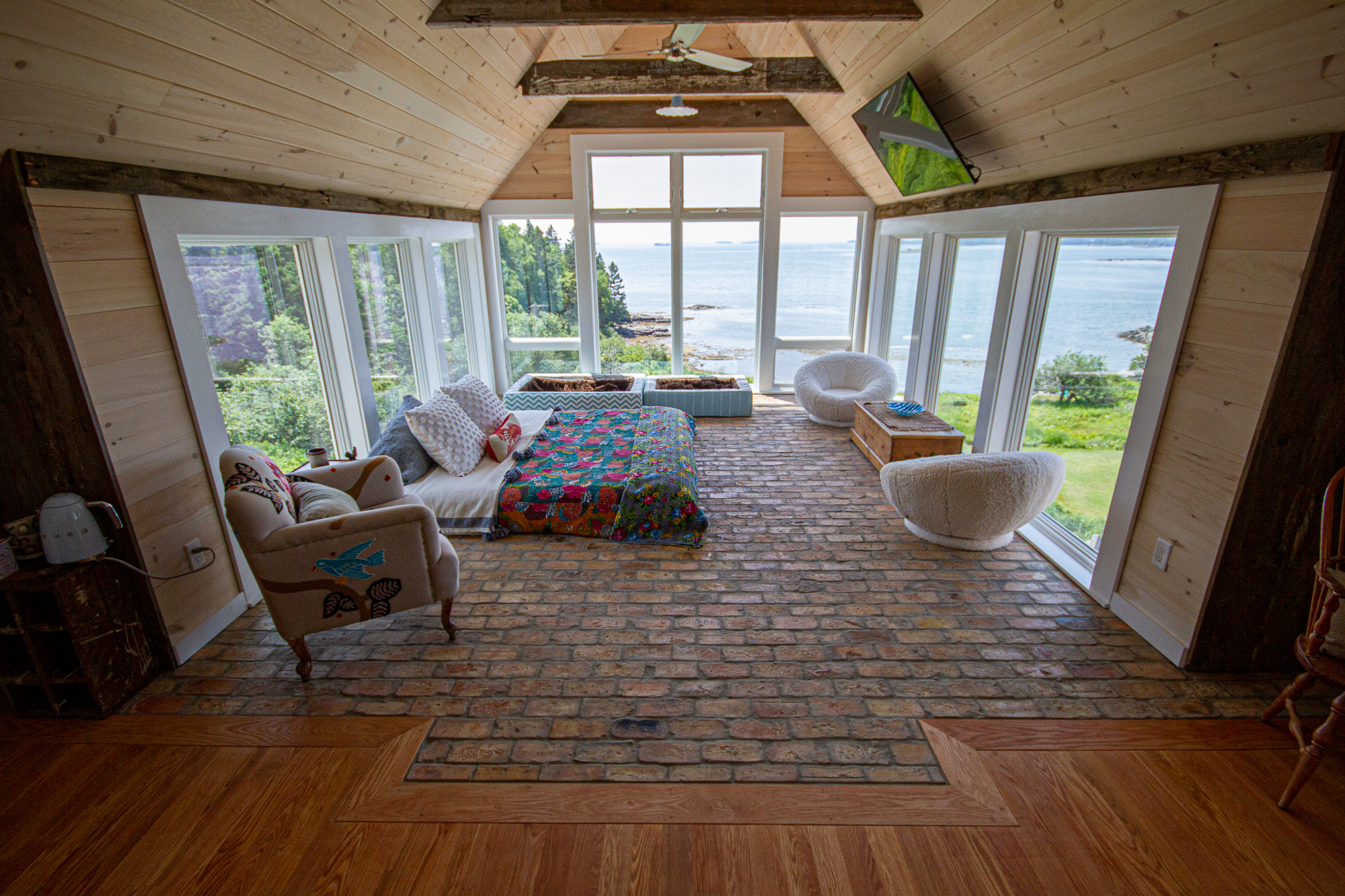 Carpentry & contracting in Washington/Hancock counties - We pride ourselves in working on all job types: new construction, renovations, general contracting, custom woodworking, exotic materials— we love it.Off grid cabins, tiny homes, unique settings/building situations. We can do it all.View projects ➝