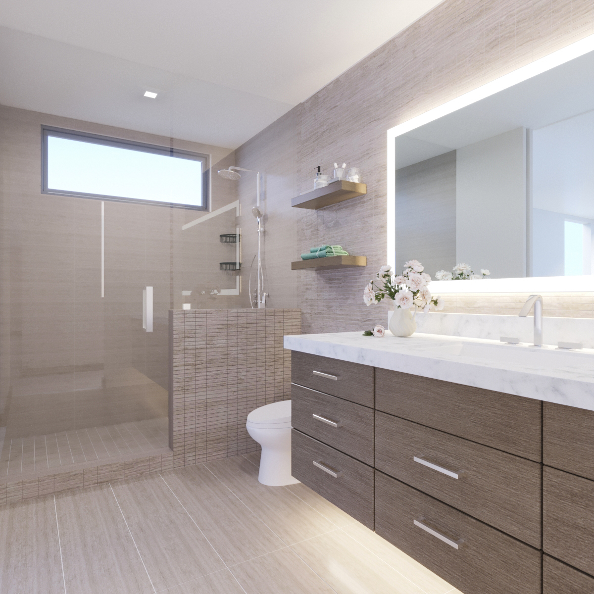 UPPER LEVEL: Bath 2