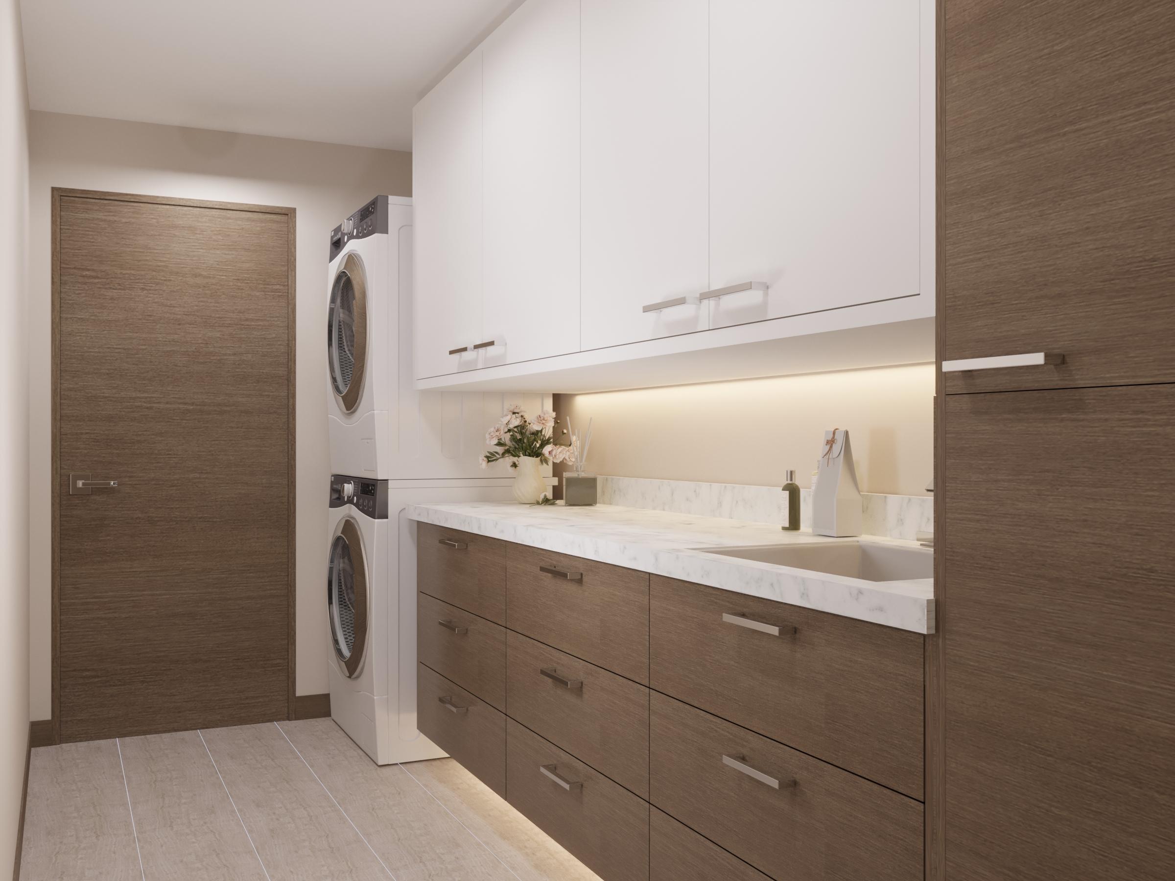 MAIN LEVEL: Laundry Room