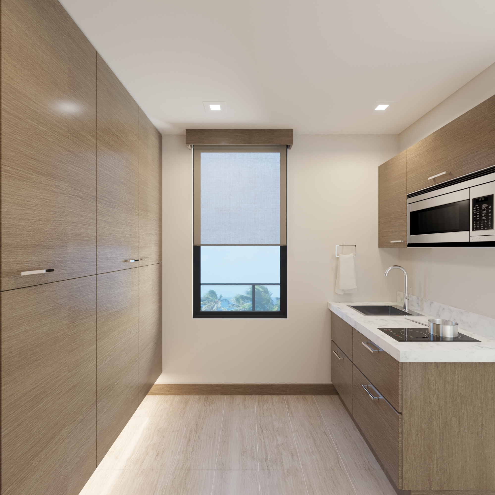 UPPER LEVEL: Guest Sink Area