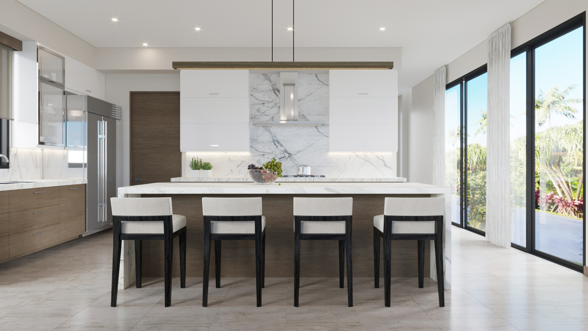 MAIN LEVEL: Kitchen