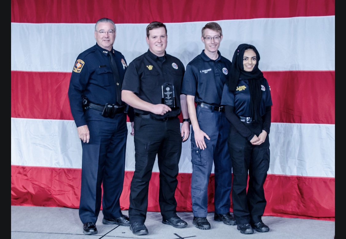 2018 EMS First Responder Award - During the month of November, UEMR was awarded the 2018 EMS First Responder Award presented by the Texas Department of State Health Services. For us, this award is indicative of our ability to maintain a high standard of care and lead the development of collegiate EMS in the DFW area.