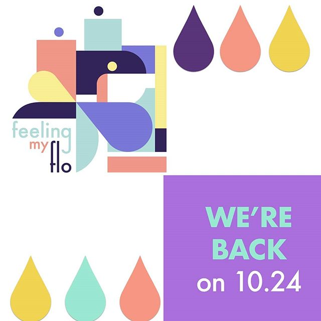 Hey FloFam! 👋🏽 Our team has been hard at work crafting a beautiful new season all about periods and the people who experience them.  Season 2 launches later this month. Subscribe now wherever you get your podcasts, and spread the word! 🎧