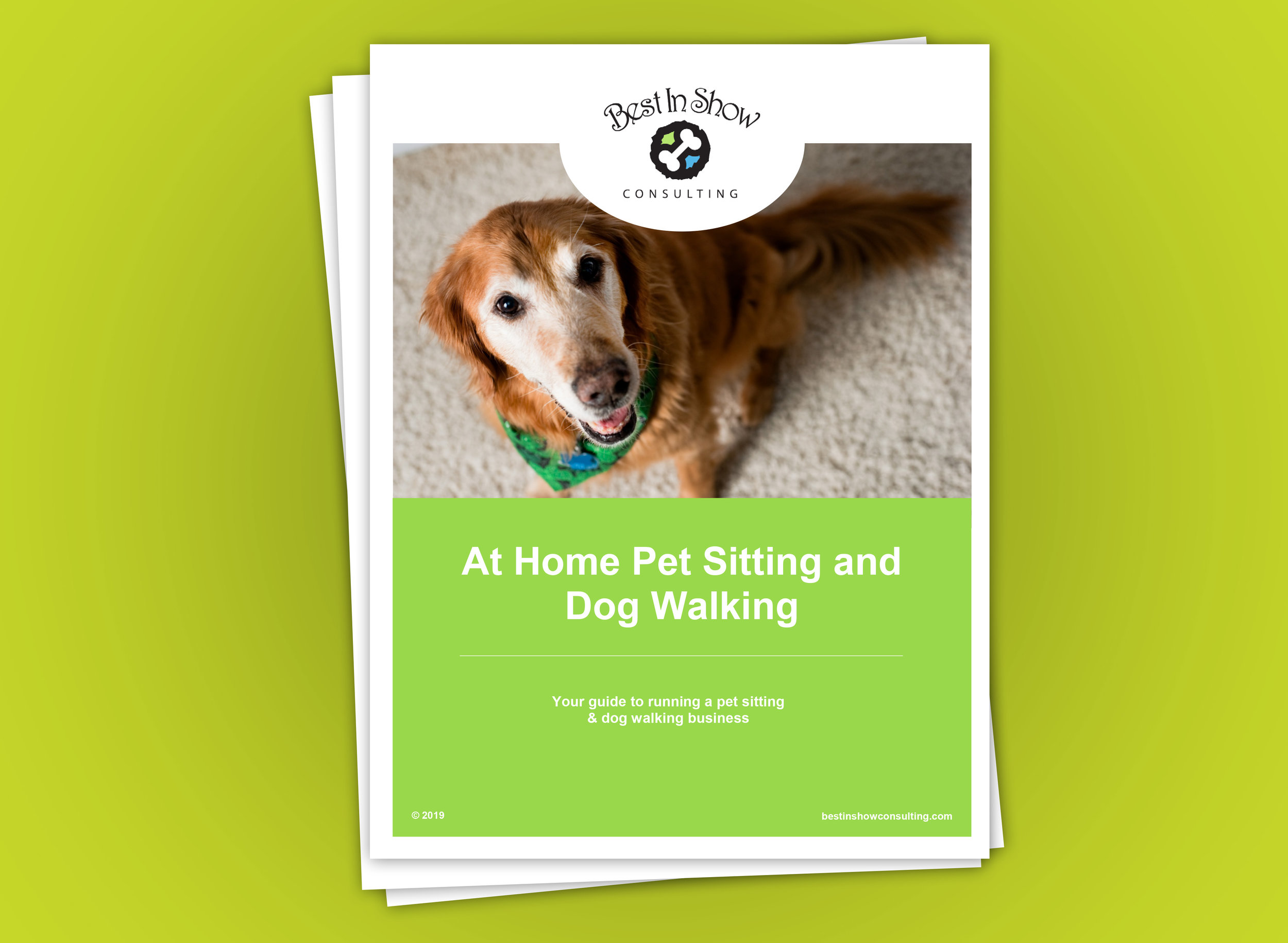 At Home Pet Service Business Manual