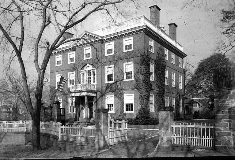 John Brown House, 1785–1788