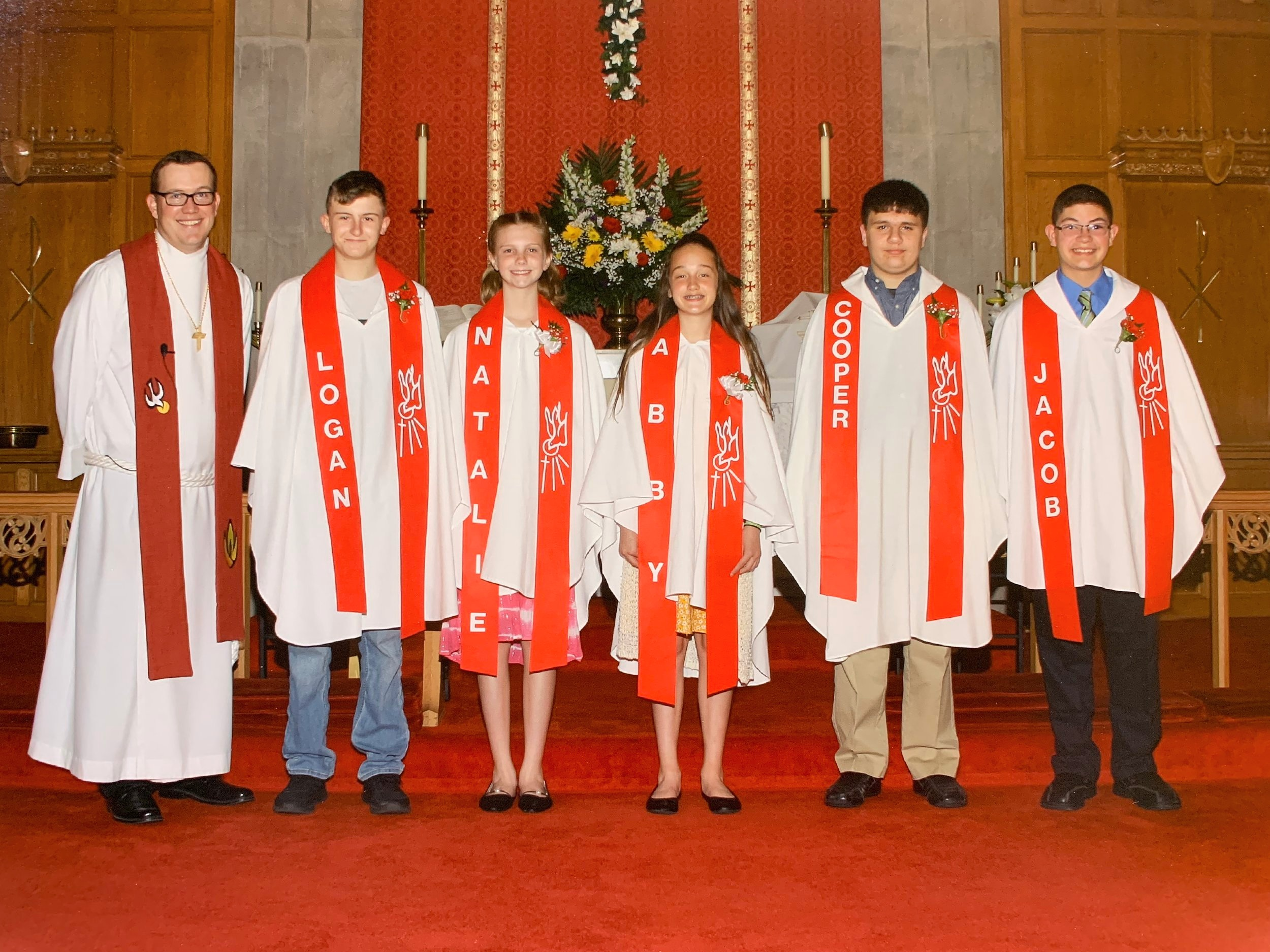 Youth Confirmation Class - Wednesdays from 6-7:15 pm from September-May. Our new year of confirmation begins on September 4! Confirmation class is offered for students beginning in their 6th grade year and usually lasts two years. Contact: Pastor Wilson