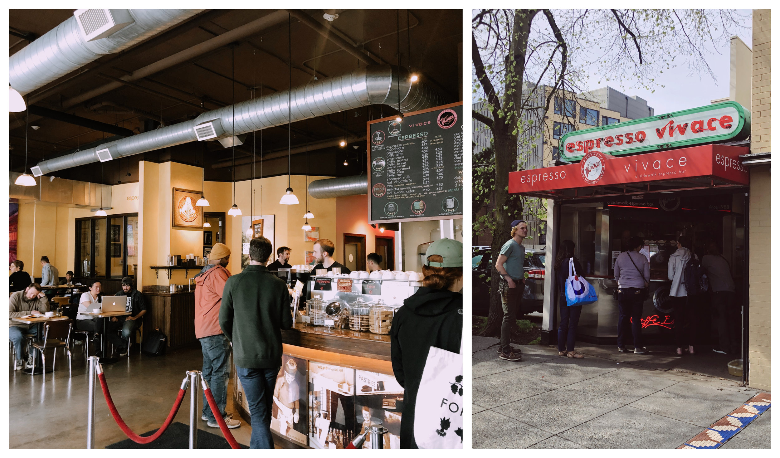 Espresso Vivace Flagship & Espresso Vivace Walk-up Bar