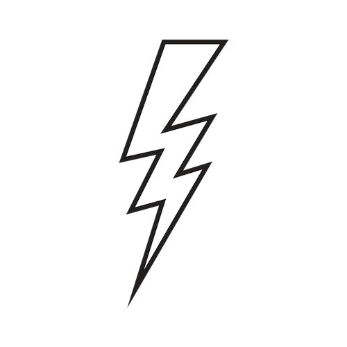 Energy Lightning Bolt - Black.png