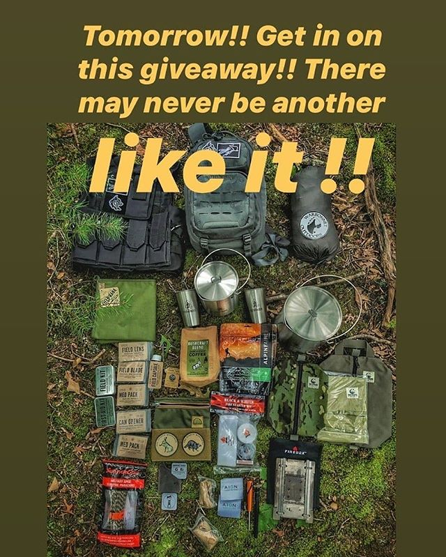 Go Check out the this epic GAW from @valleyreb -  THERE MAY NEVER BE ANOTHER GIVEAWAY LIKE THIS AGAIN‼️‼️This is a winner takes all extravaganza ‼️‼️Go to Mark's page, find the post and follow all the rules to enter!
