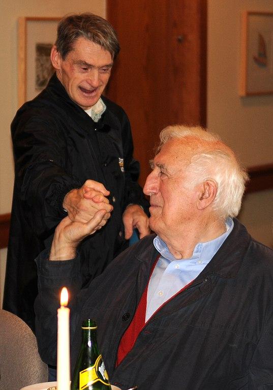 Jean Vanier, founder of L'Arche ( Wikimedia File, Creative Commons License )
