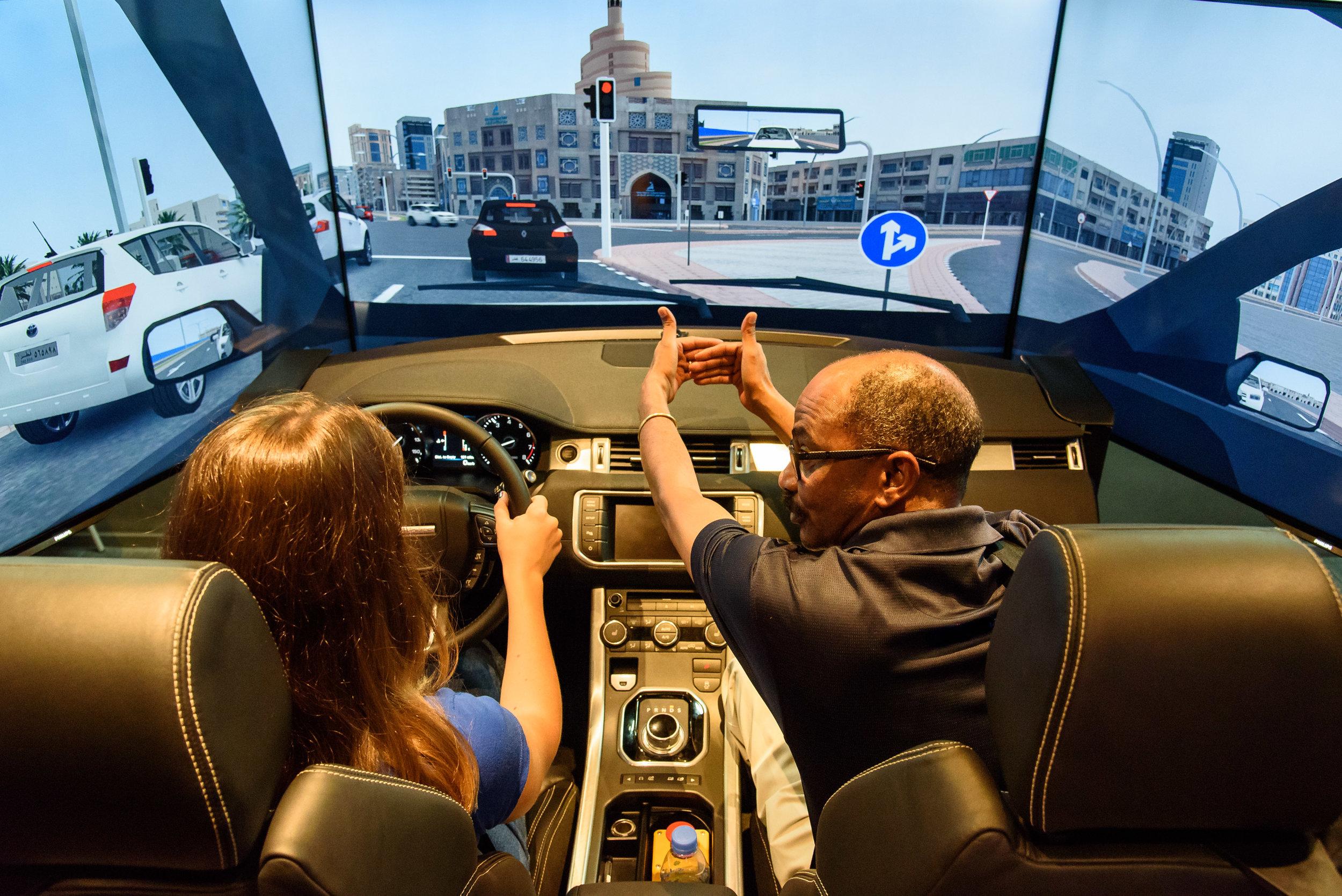 Gamyra Tech Driver Simulation Training