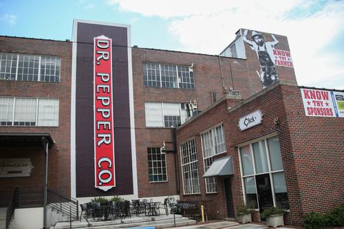 Former Dr. Pepper bottling building in Pepper Place District, Birmingham, Alabama
