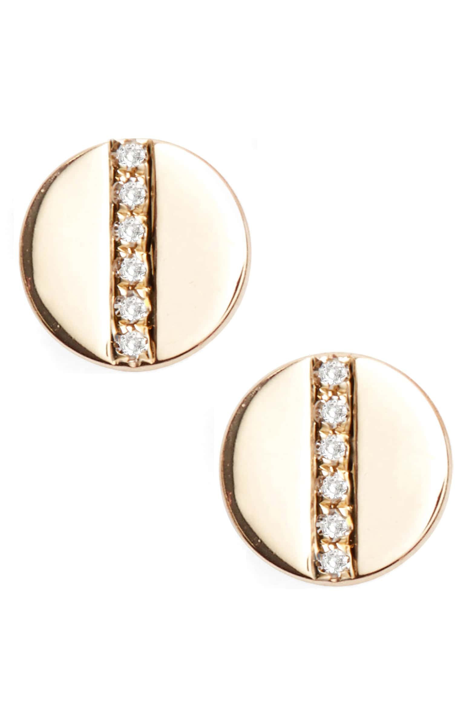 5. EF Collection screw stud earrings -
