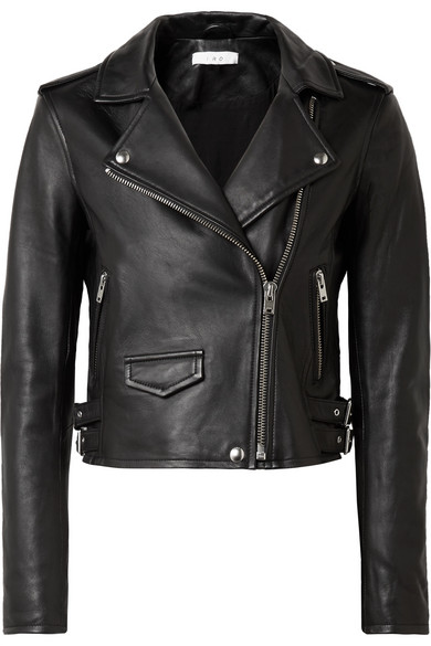 Leather Jacket - IRO Ashville Leather Jacket