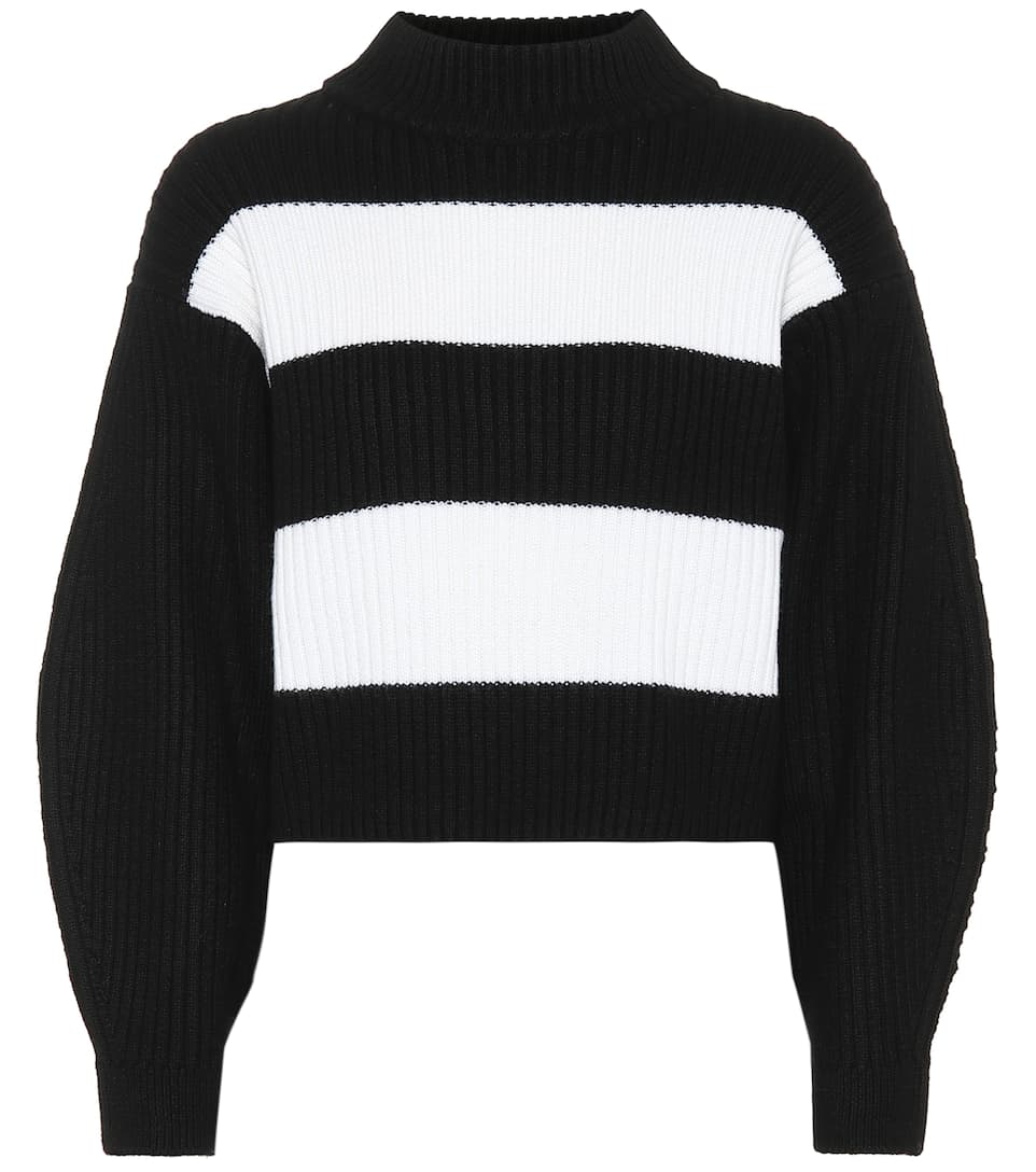 Stripe Sweater - TIBI Merino Wool Sweater