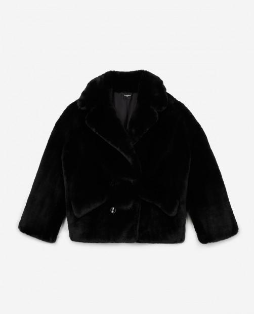 the kooples faux fur jacket -