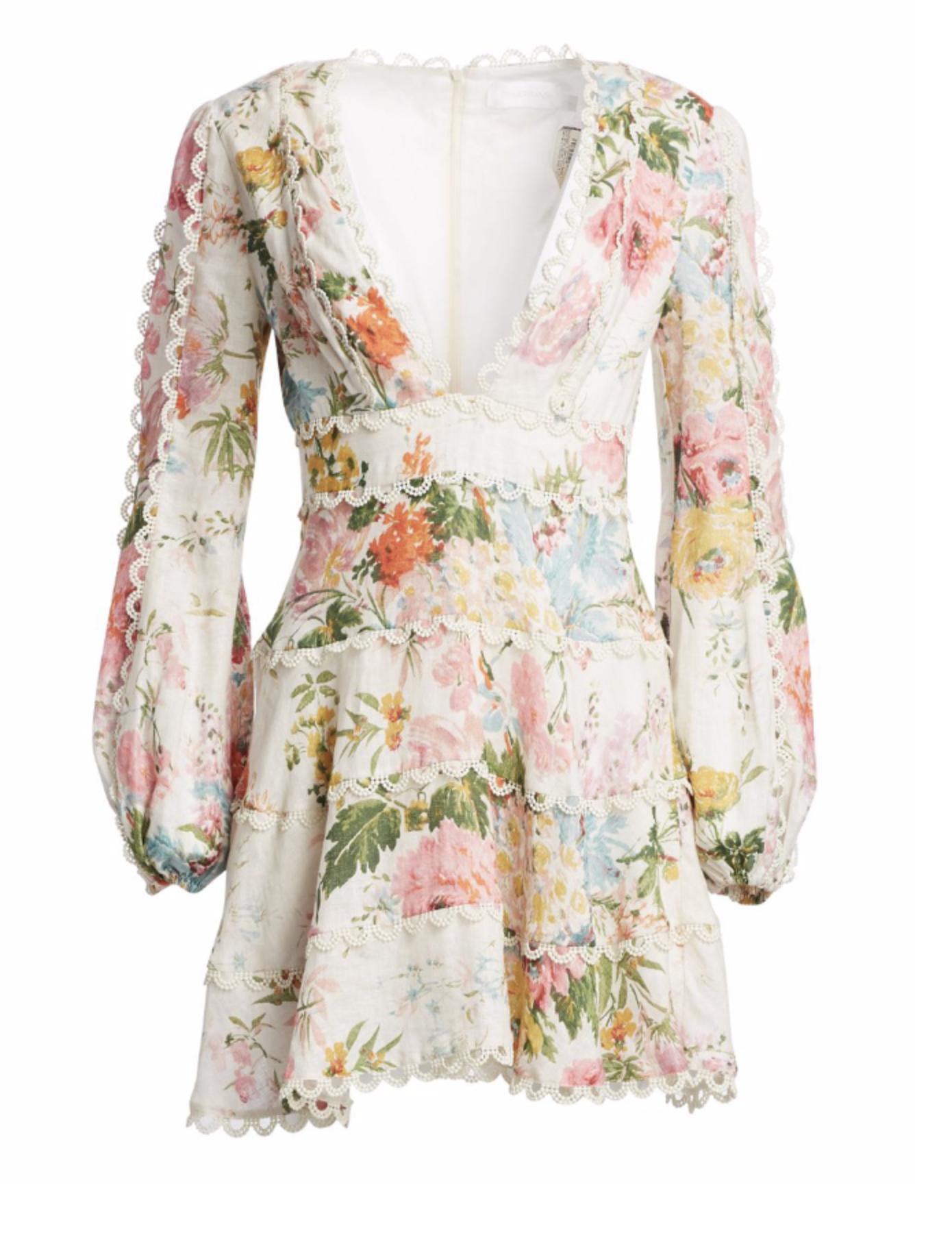Zimmermann floral dress -