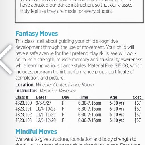 Do you have a child or teen who would benefit from all abilities dance classes? If you are in the Gilroy area, register for our classes starting this Friday! #cityofgilroyrecreation #movesmade4me #allabilitiesdance #bayarea
