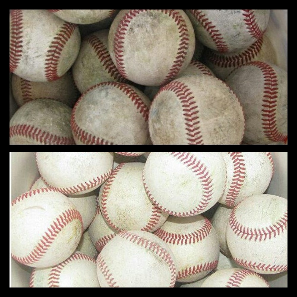 How to clean dirty baseballs - KellerTX.jpg