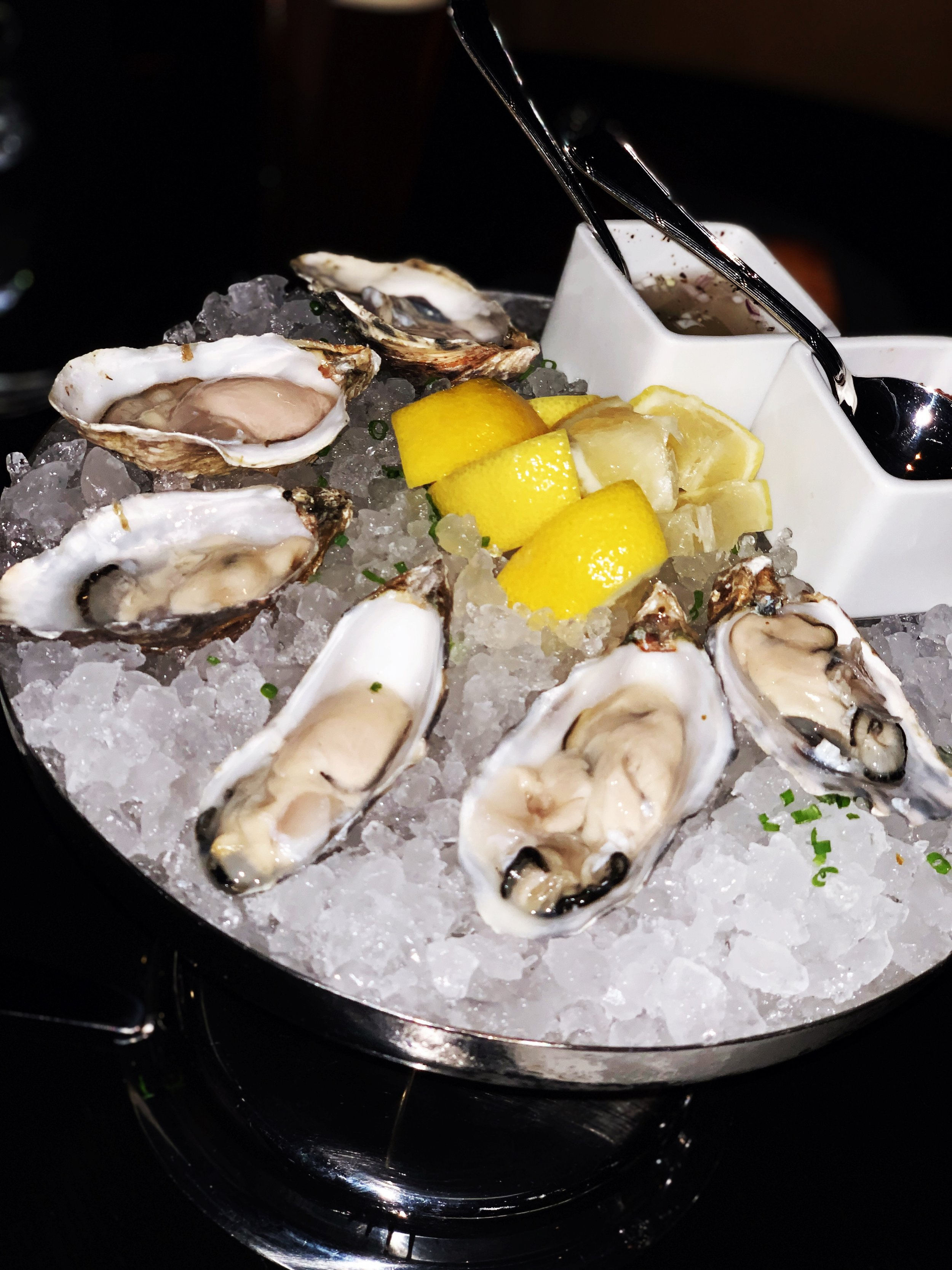 Oysters at GT Prime