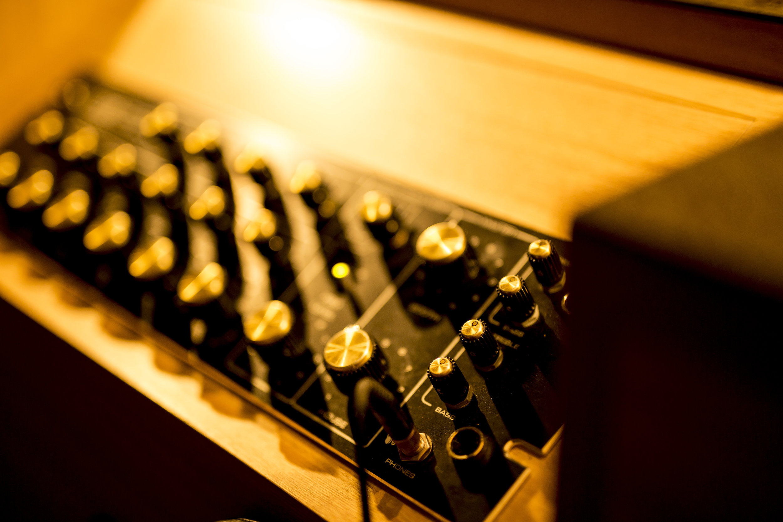 mixer: Urei 1620LE
