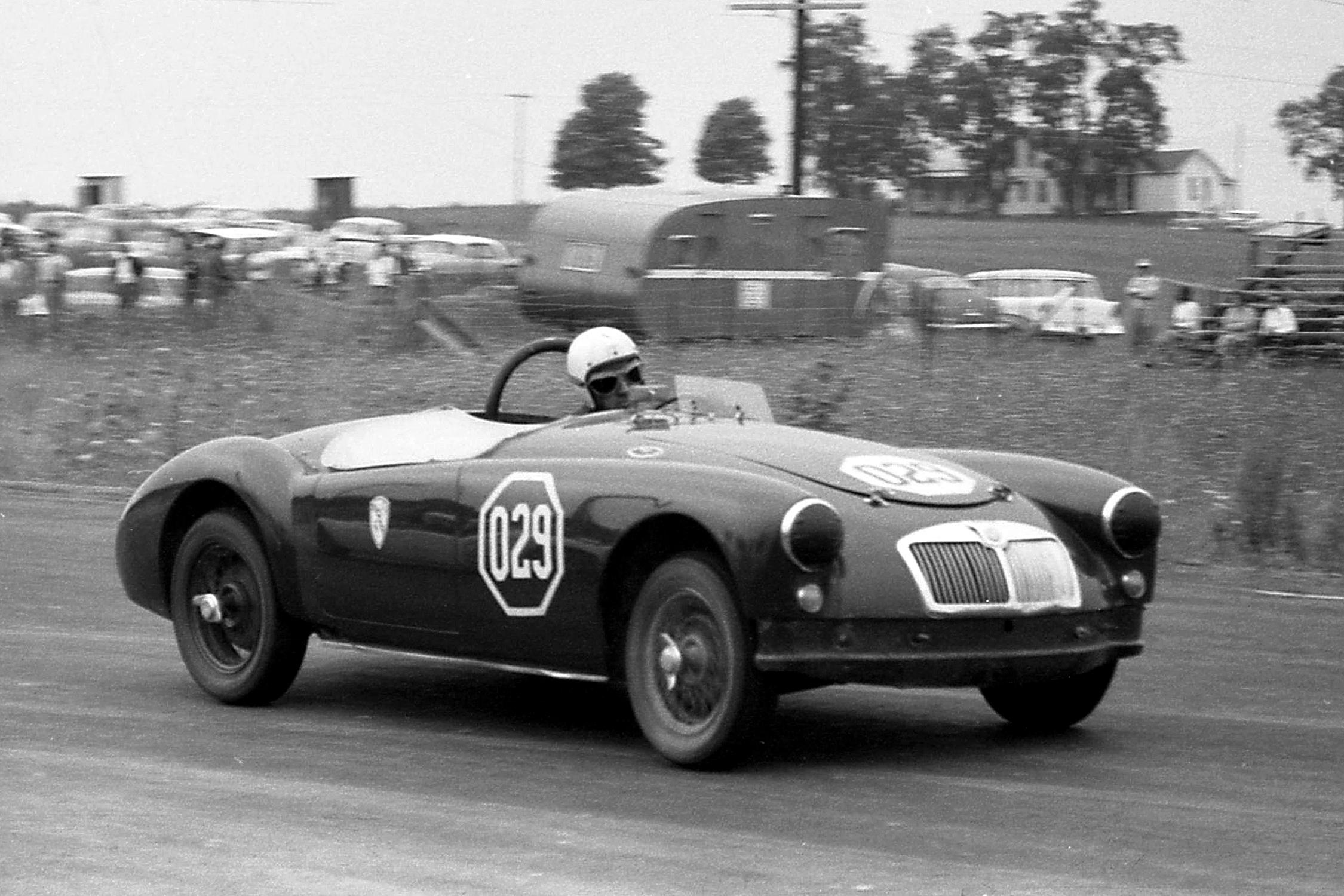 1959 MG Car Club races