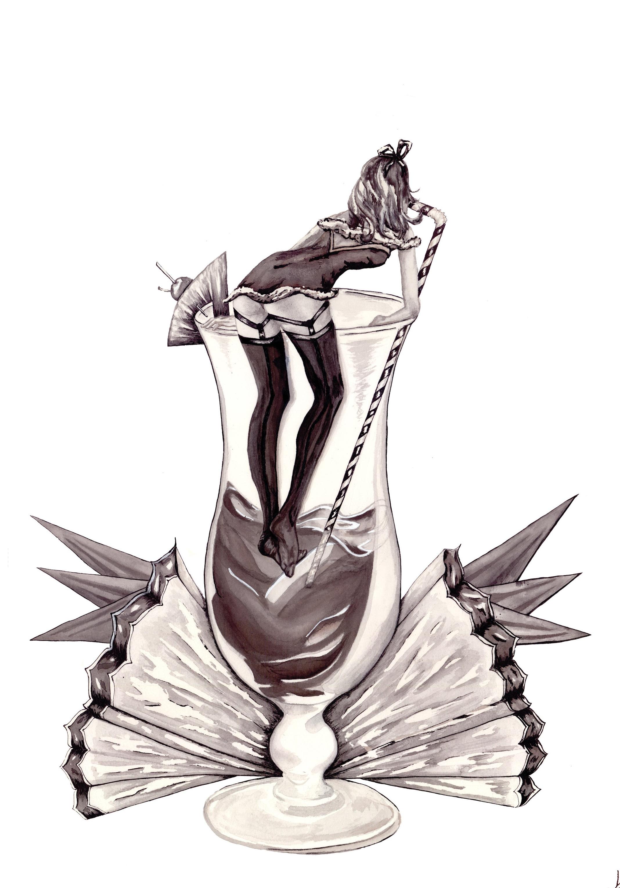 Pin up Illustration