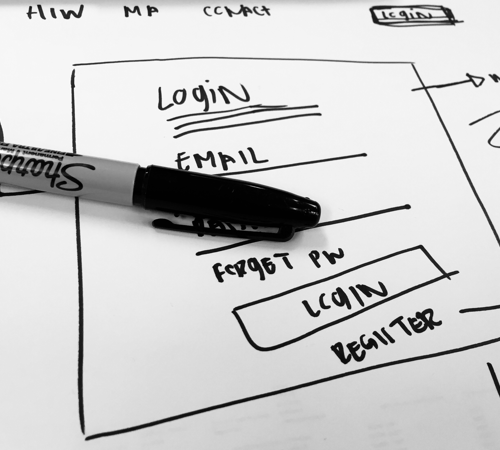 UX RESEARCH - UX Research - Registration & login