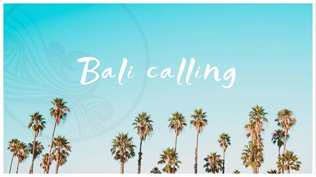    TROPICAL ANNOUNCEMENT • If you have been dreaming about coming along to enjoy a week of yoga, sunshine, coconuts & all the feel good vibes… you're in luck!! We have had one last spot open up for our May 6 - 11 Bali Retreat. • If you can manage to sneak away for a week of nourishment, please get in touch asap! • For more retreat info - www.truespiritbali.com •  Much love, Tom & Kim   