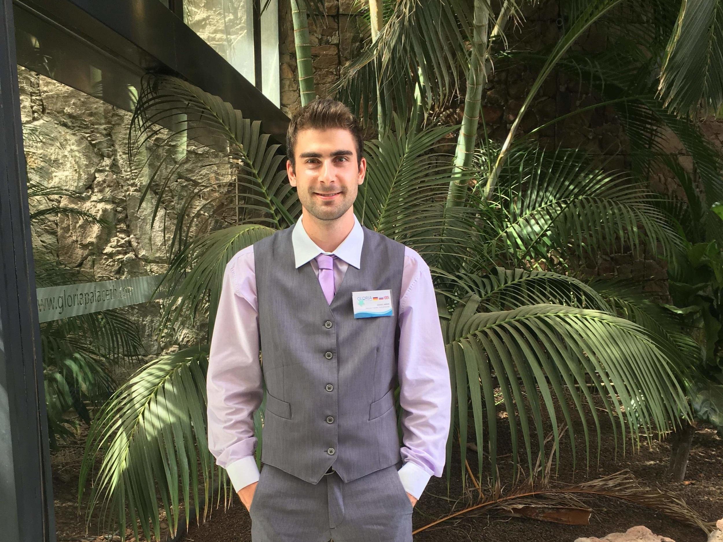 Erasmus- Praktikum als guest relations manager auf teneriffa - Daniel