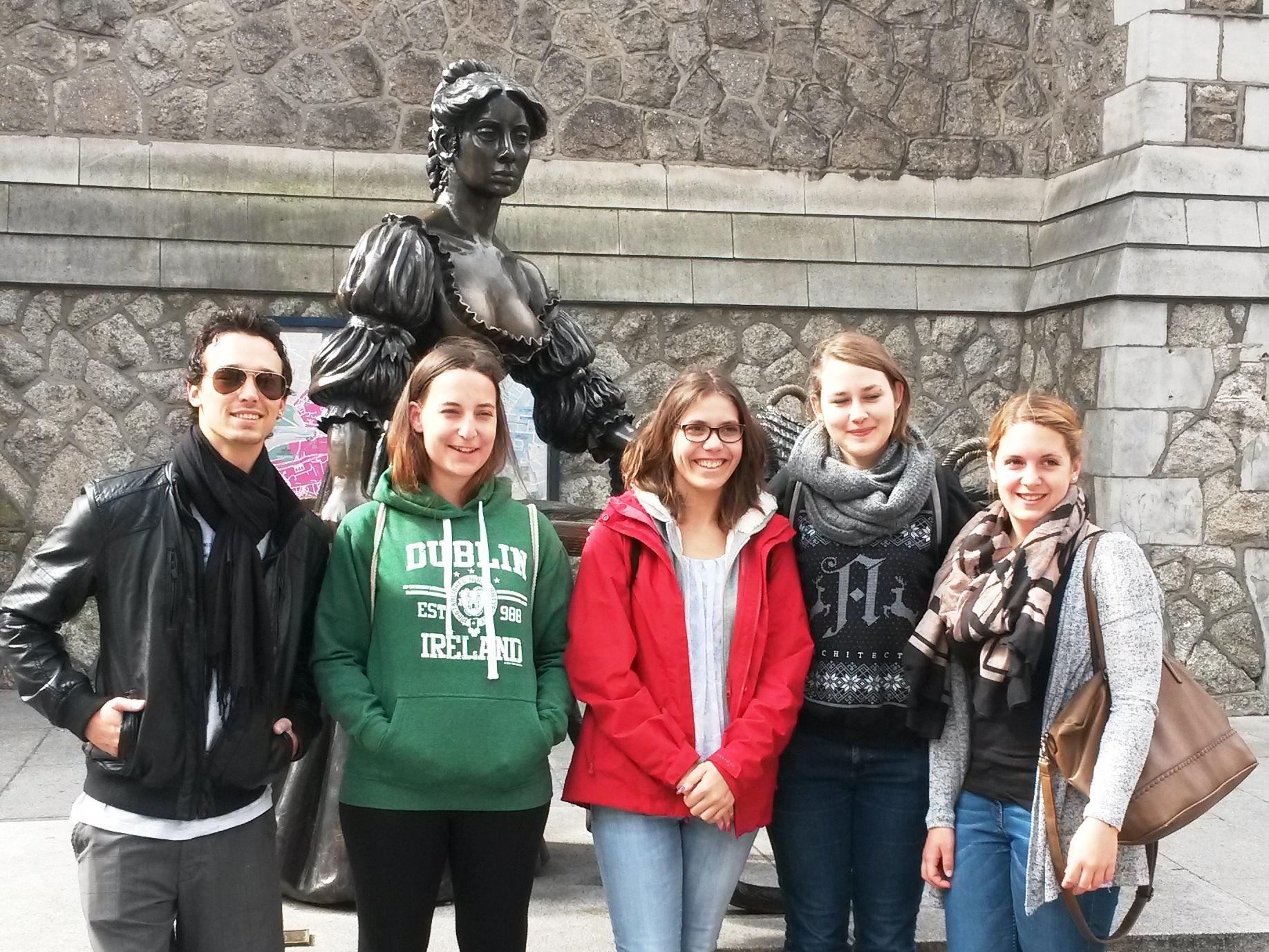 Kultur, guinness und vieles mehr in Dublin - Klassenfahrt nach Irland