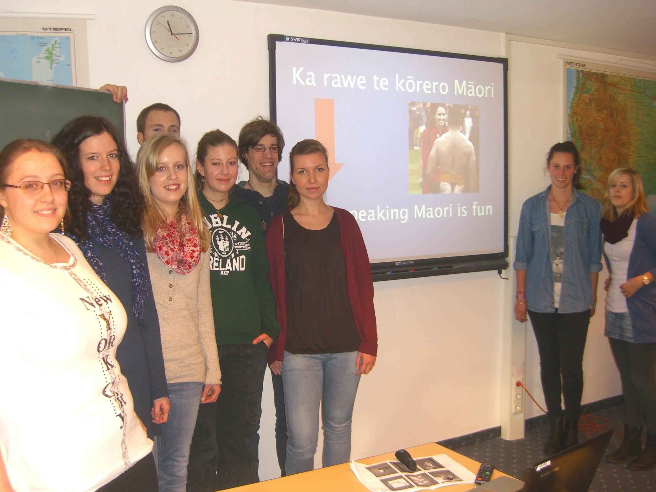 Was Middle Earth und Jandals Gemeinsam haben - Neuseeländische Studentin zu Gast am IFB