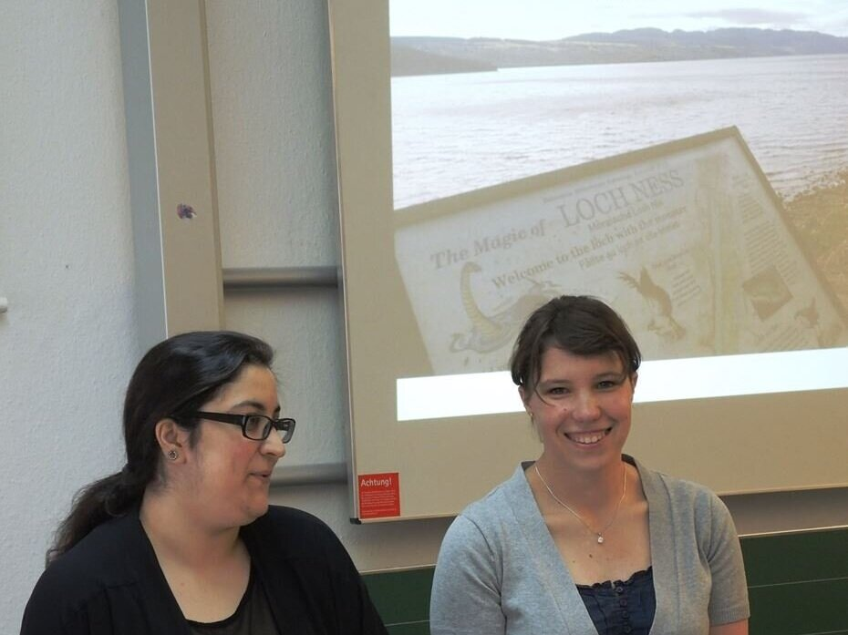 Zum erasmuspraktikum nach Stirling - Anna & Melissa