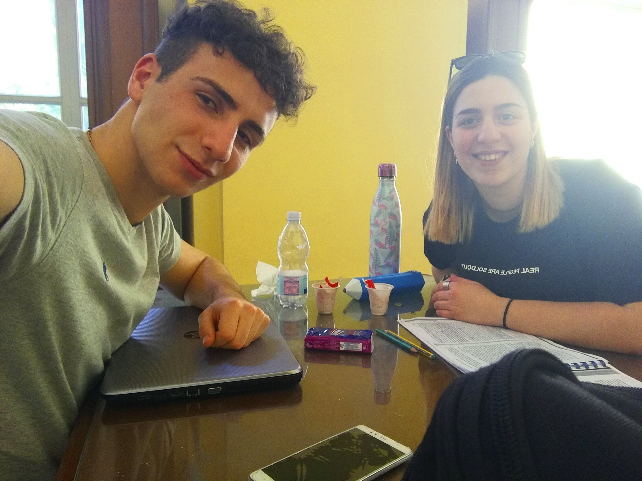 Greetings from Italy to the lovely IFB - Ludovica & Giacomo, Italien