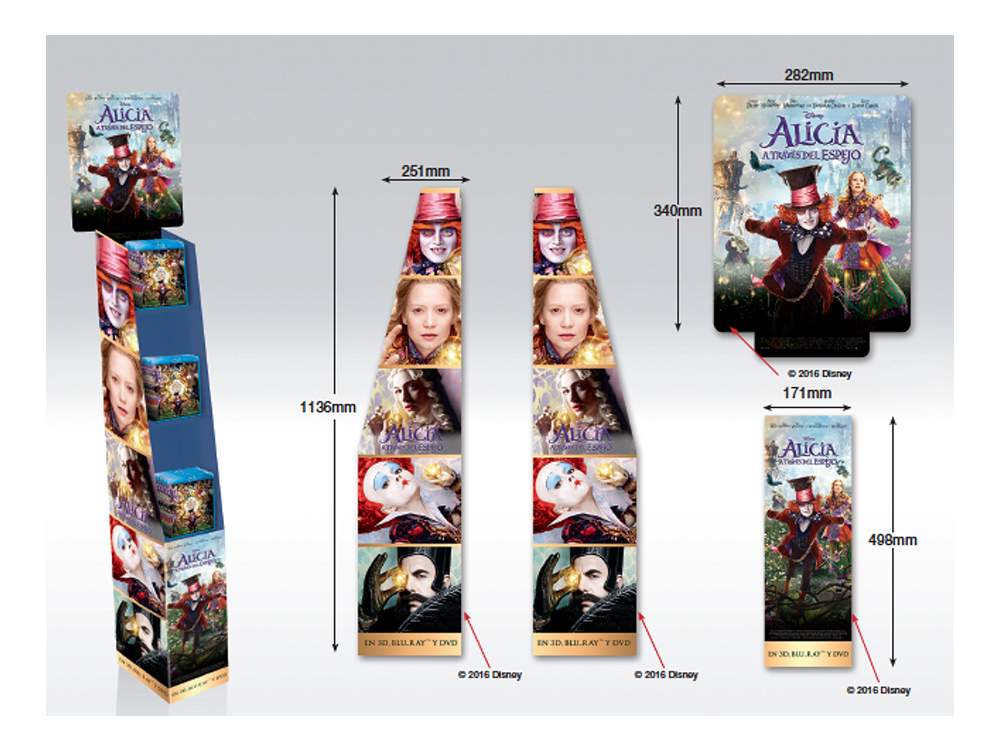 point of sale - In-store display conceptualizationPosters, Standees and WallsFree Standing Display Units (FSDU)Cross-media collateral adaptationsPrint quality management