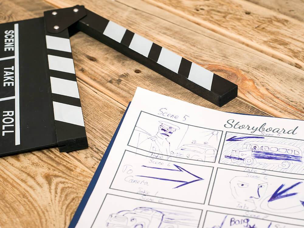 storyboards and voiceovers - Conceptualization and script writingStoryboard design and developmentClosed captioning and subtitlesVoice overs and transcriptionsMetadata creation and tagging