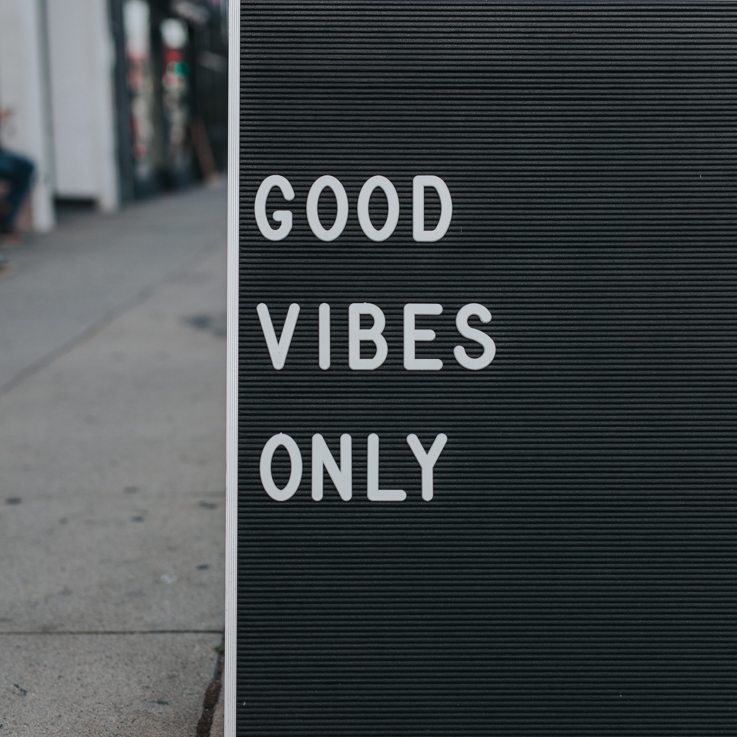 On Tuesday Nights, I do yoga so I plot this into my calendar.Good Vibes Only, Please! -